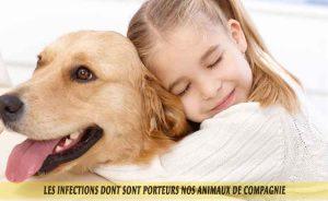 Une famille avec des animaux de compagnie en bonne santé